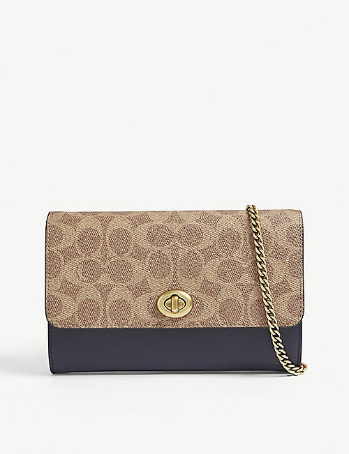 COACH Marlow canvas cross-body bag