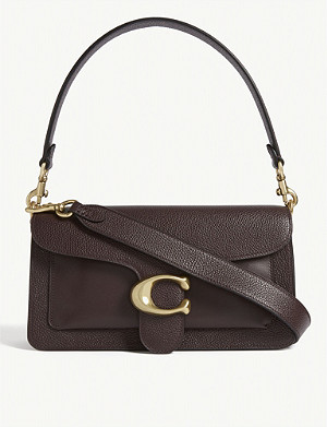 COACH Tabby pebbled-leather shoulder bag