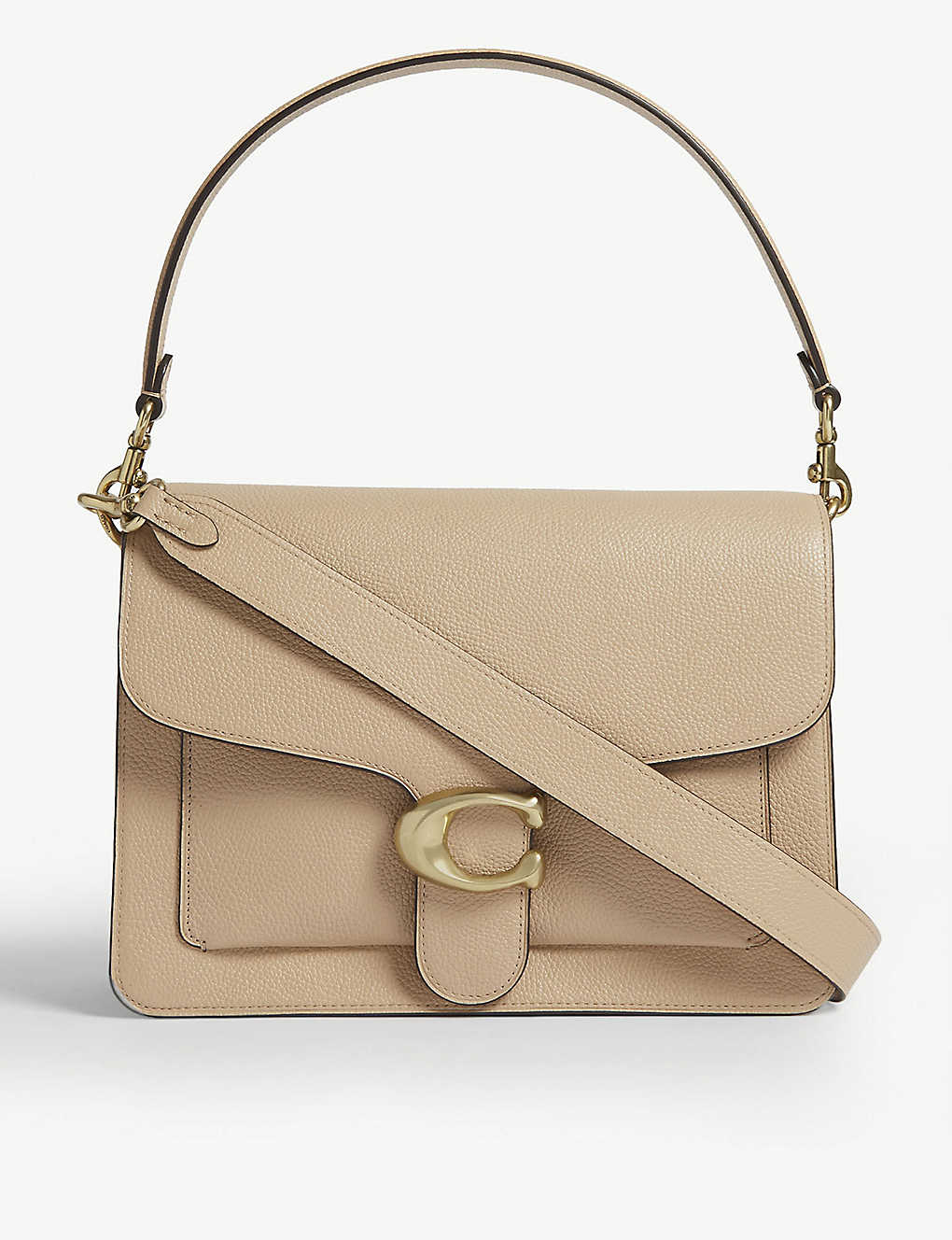 COACH: Tabby leather shoulder bag