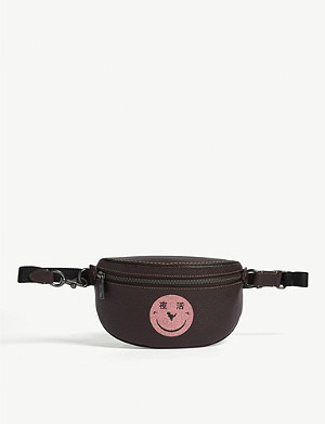 COACH Yeti Out leather belt bag