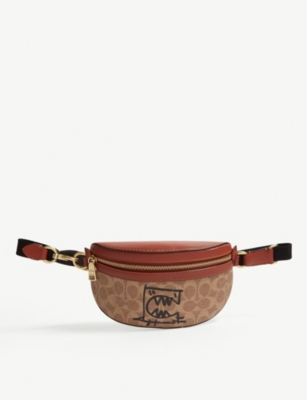 COACH Rexy print belt bag
