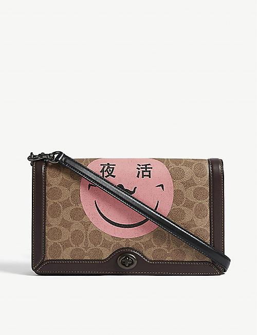 8f2db8dec COACH Yeti Out leather cross-body bag
