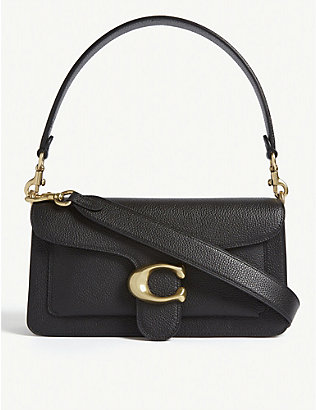 COACH: Tabby pebbled-leather shoulder bag