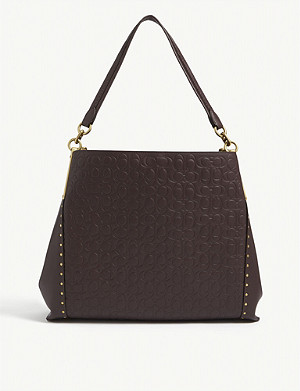 COACH Dalton leather shoulder bag