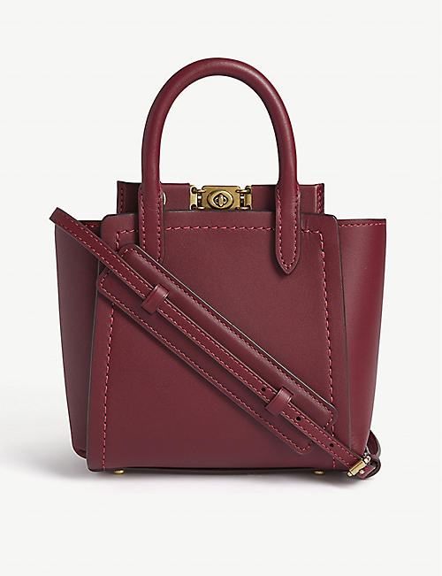 COACH Troupe leather tote