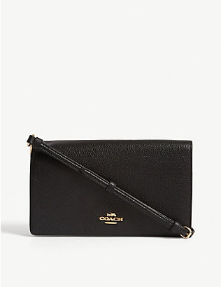 COACH: Hayden pebbled leather cross-body bag