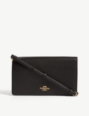 COACH Hayden pebbled leather cross-body bag