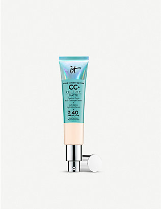 IT COSMETICS: Your Skin But Better CC+ Oil-Free Matte with SPF 40 32ml
