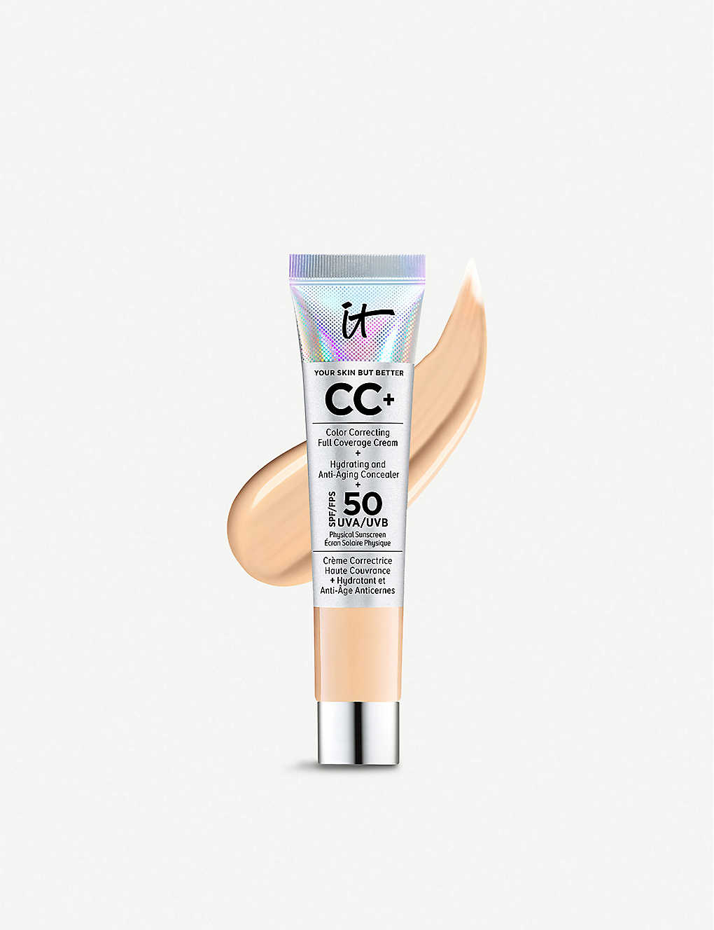 IT COSMETICS:Your Skin But Better CC+ 乳霜 SPF 50+ 12 毫升