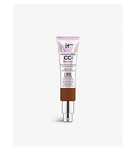 692c9738f77e3 ... IT COSMETICS Your Skin But Better CC+ Illumination SPF 50+ Cream 32ml  (Deep. PreviousNext