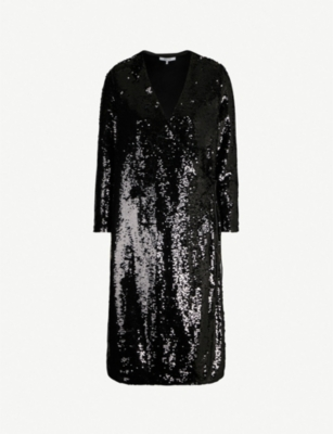 GANNI Sonora sequinned dress