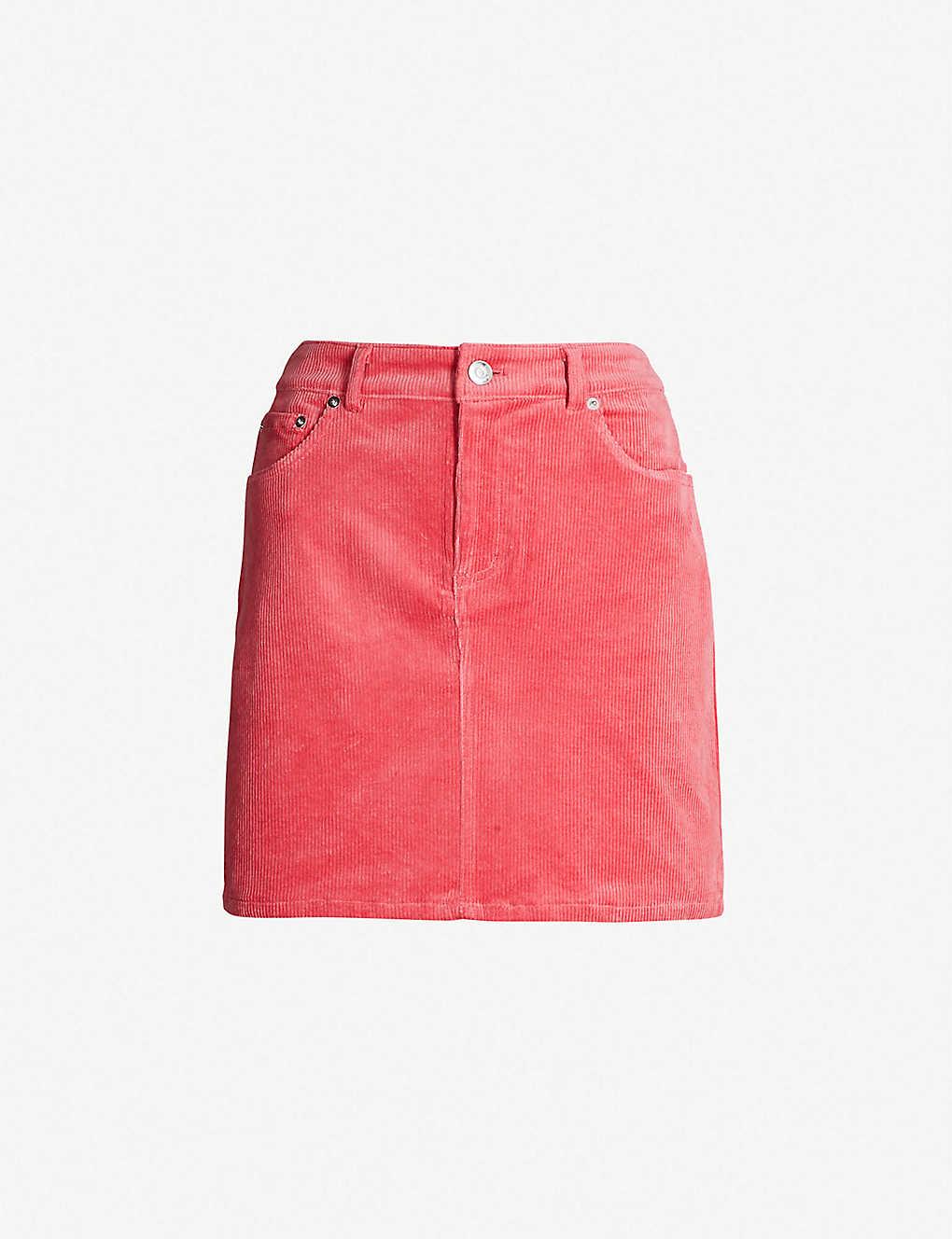 49533f3c GANNI - Ridgewood high-rise corduroy skirt | Selfridges.com