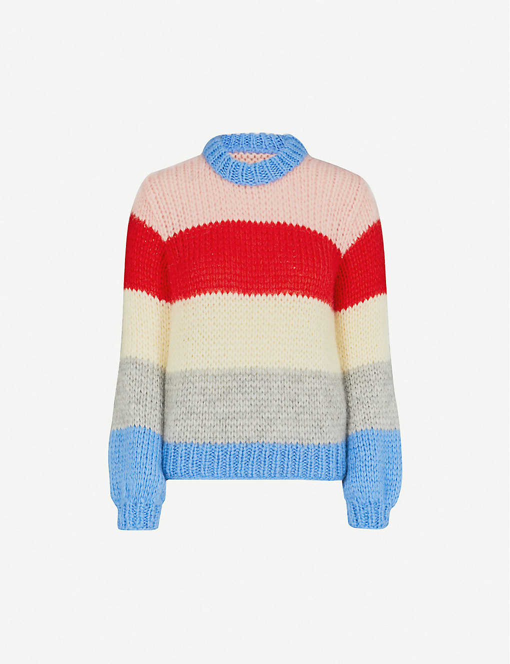 bd1fb0e3 GANNI - Julliard mohair and wool-blend jumper | Selfridges.com