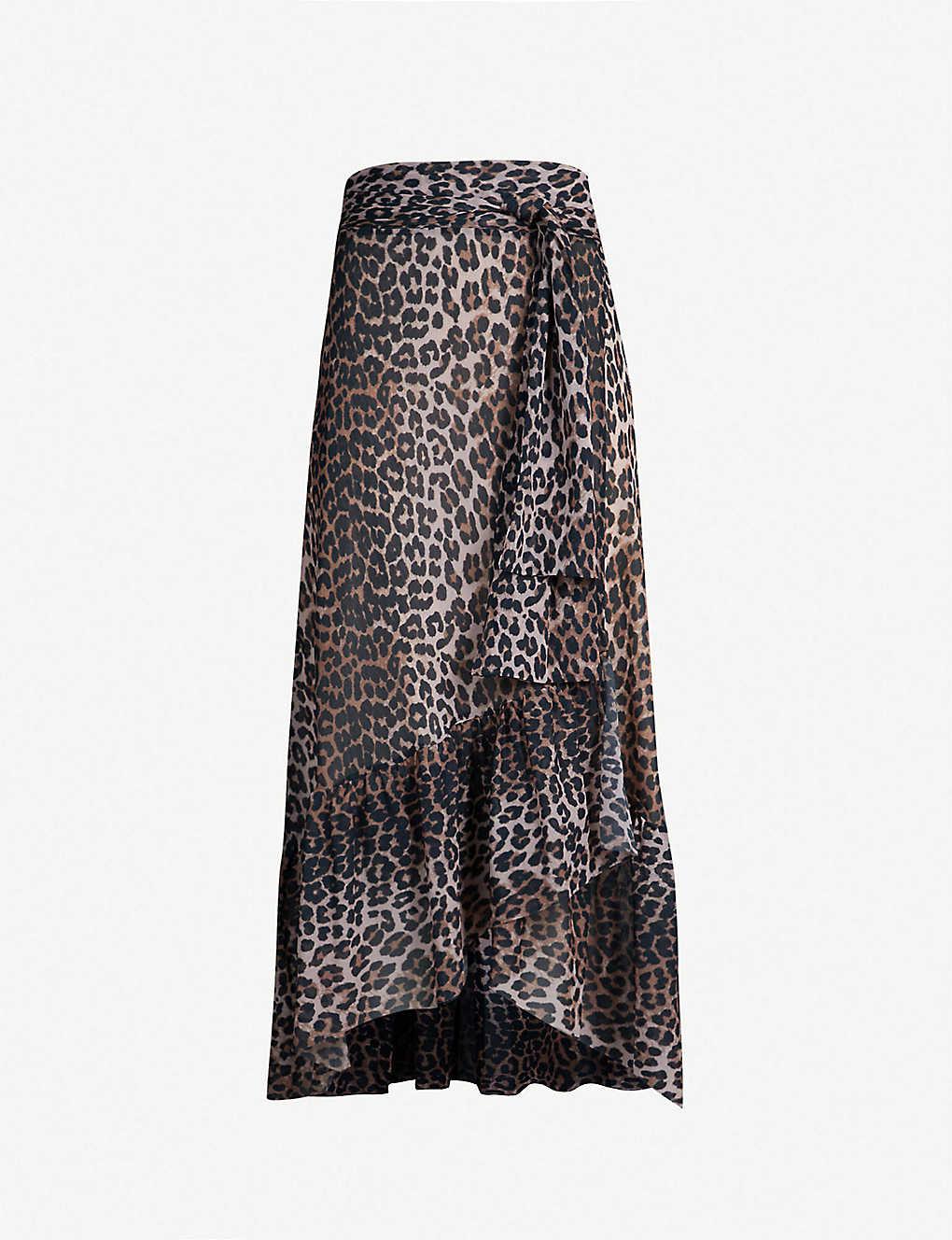 c6f8768b0640 GANNI - Tilden mesh wrap skirt | Selfridges.com