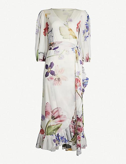 3ff70fd13a GANNI Tilden mesh dress