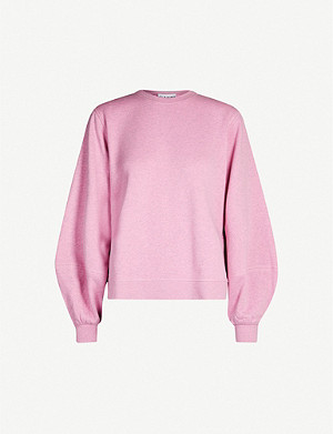 GANNI Isoli cotton-jersey jumper
