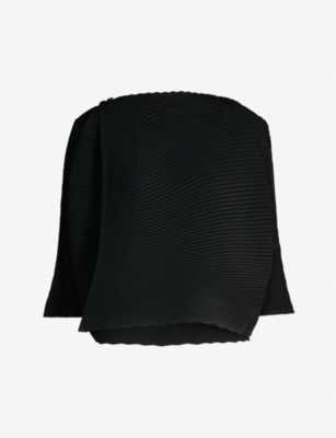 ISSEY MIYAKE Arrow pleated top