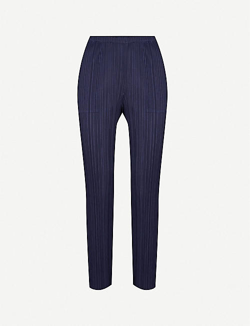 c51a49475876f PLEATS PLEASE ISSEY MIYAKE Basics cropped pleated trousers