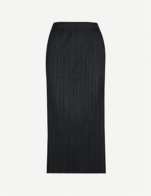 PLEATS PLEASE ISSEY MIYAKE Basics high-rise pleated skirt aed61f457e