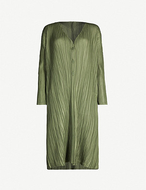 PLEATS PLEASE ISSEY MIYAKE Mellow pleated cardigan