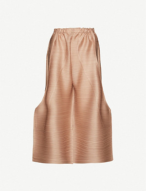 PLEATS PLEASE ISSEY MIYAKE High-rise woven pleated trousers
