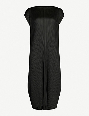 PLEATS PLEASE ISSEY MIYAKE Monthly Colors cap-sleeve crepe dress