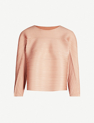 PLEATS PLEASE ISSEY MIYAKE Bounce woven pleated top