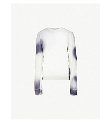 f75e3444c45ea OFF-WHITE C O VIRGIL ABLOH - Spray Arrow cotton-jersey sweatshirt ...
