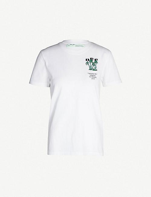 bc7061de1cc OFF-WHITE C O VIRGIL ABLOH Island cotton T-shirt. Quick view Wish list
