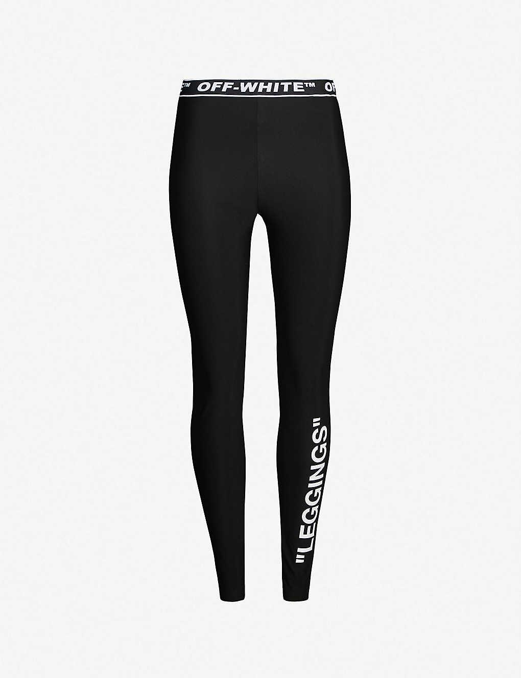 3fe0ec5260896 OFF-WHITE C/O VIRGIL ABLOH - Leggings-print stretch leggings ...