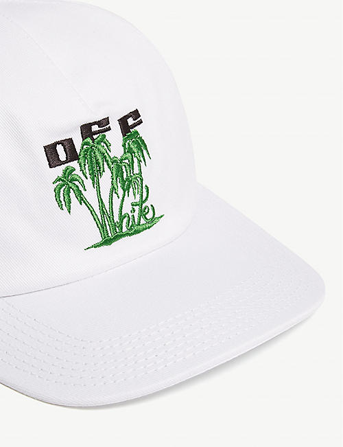 OFF-WHITE C/O VIRGIL ABLOH Island cotton baseball cap