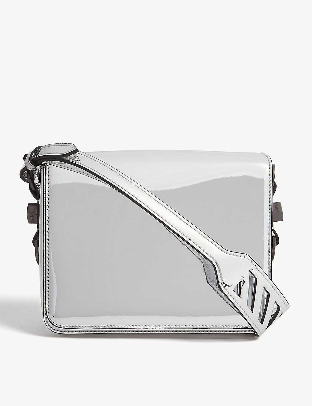 d93d411eba5e85 OFF-WHITE C/O VIRGIL ABLOH - Mirror binder clip shoulder bag ...