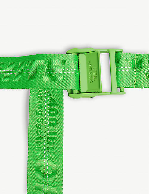 OFF-WHITE C/O VIRGIL ABLOH Classic jacquard industrial tape belt
