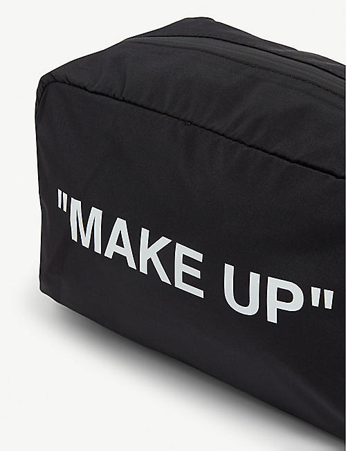 "OFF-WHITE C/O VIRGIL ABLOH ""Make up"" nylon bag"