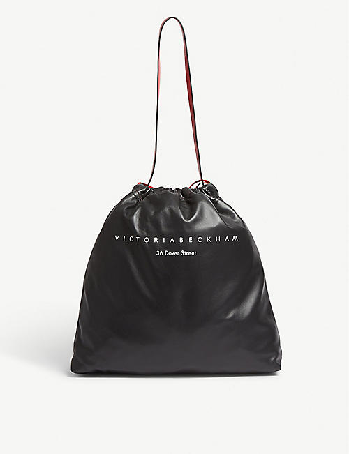 89ddf21c4f VICTORIA BECKHAM 36 Dover St leather drawstring bag