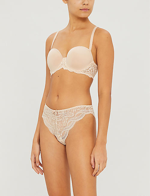 SIMONE PERELE Caresse 3D Spacer and stretch-lace bra