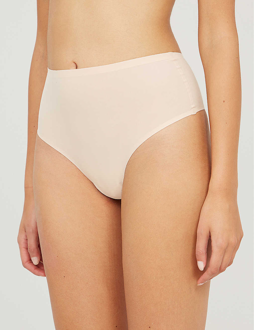 CHANTELLE: Soft Stretch high-rise stretch-jersey thong
