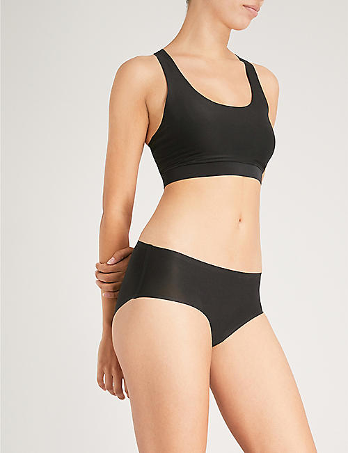 CHANTELLE Soft Stretch jersey hipster briefs