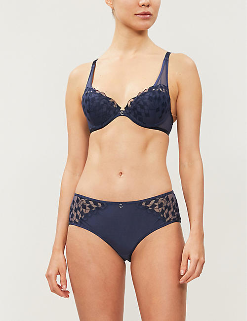CHANTELLE Wagram padded underwired mesh bra