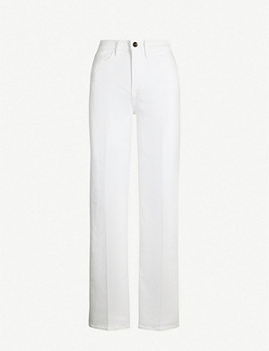 FRAME Le California high-rise wide-leg jeans