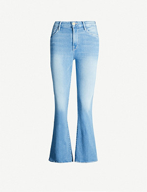 FRAME Le Crop Mini Boot mid-rise flared jeans