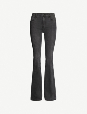 FRAME Le High Flare skinny flared high-rise jeans