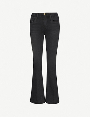 FRAME Le High Flare flared high-rise jeans