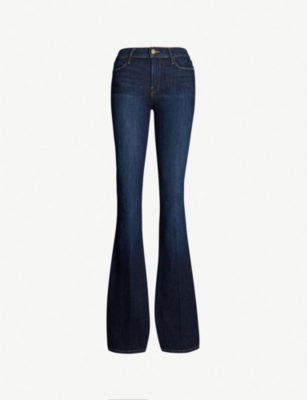 FRAME Le High Flare Sutherland mid-rise jeans