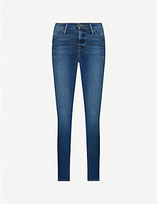 FRAME: Le High Skinny high-rise jeans