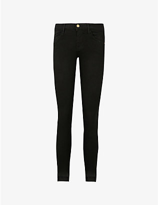 FRAME: Le Skinny mid-rise jeans