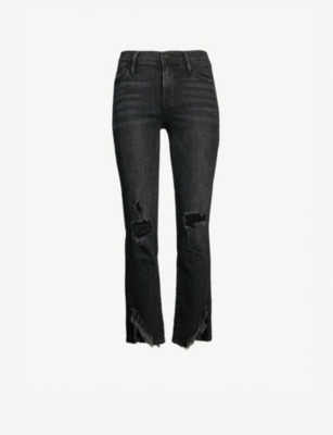 FRAME Le High cropped high-rise skinny jeans