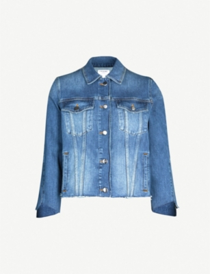FRAME Le Jacket Triangle Gusset denim jacket