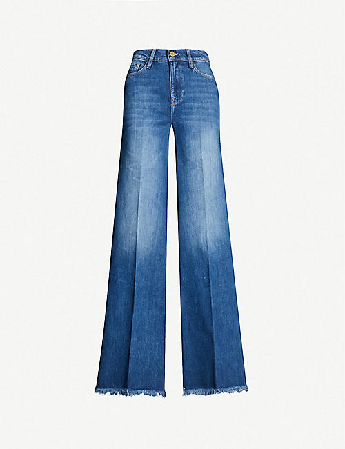 a8f724204cc63 FRAME La Palazzo wide high-rise jeans