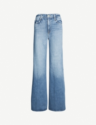 FRAME Le Palazzo Snap Away high-waisted jeans